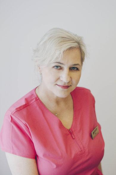 Ewa Szyca<br>pielęgniarka